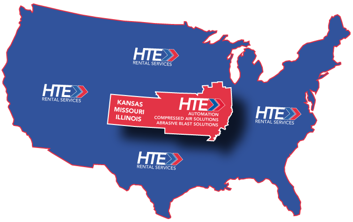 HTE Offices in Kansas, Missouri and Illinois